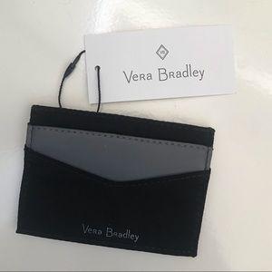 Vera Bradley Midtown Slim Card Case Black